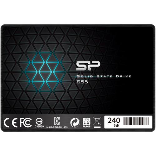 Silicon Power 240GB Slim S55 SATA III Internal SSD