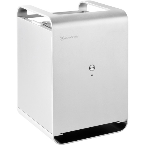 SilverStone CS01 Case Storage Series Small Form Factor NAS Chassis (Silver)