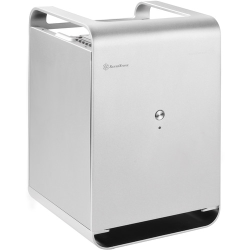 SilverStone CS01-HS Case Storage-Series Small Form Factor Hot-Swap NAS Chassis (Silver)