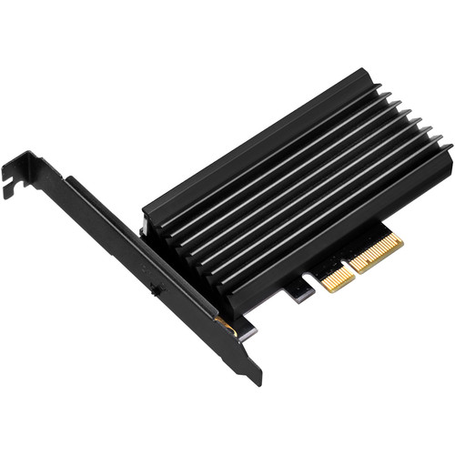 SilverStone ECM24 M.2 Port to PCIe x4 Adapter Card with Heatsink