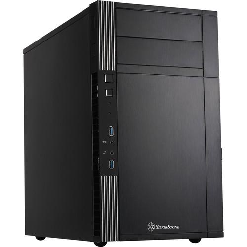 SilverStone Precision Series PS07 Micro-ATX Chassis (Black)