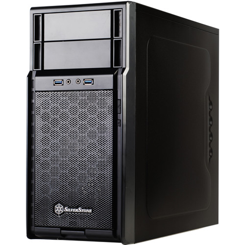 SilverStone PS08 Precision Series Mini-Tower Case