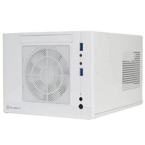 SilverStone SG05-LITE Sugo Chassis for Mini-DTX / Mini-ITX Motherboard (White)
