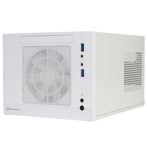SilverStone SG05-LITE Sugo Mini-Tower Case (White)