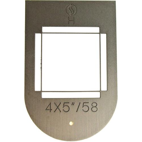 "Silvestri 4 x 5"" Viewfinder Frame for Silvestri H Camera (58mm, Vertical/Horizontal-Shaped)"