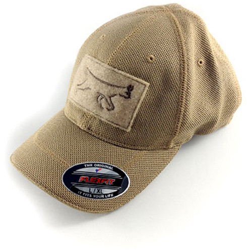 Silynx Communications Lynx Flexfit Cap (Large/X-Large, Stone Gray)