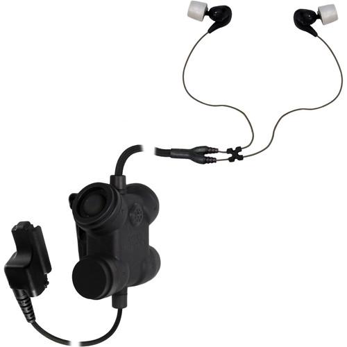Silynx Communications Clarus FX2. Clarus FX2 Control Box, Fixed Dual In-Ear Headset, Fixed Motorola XTS Adapter (Black)