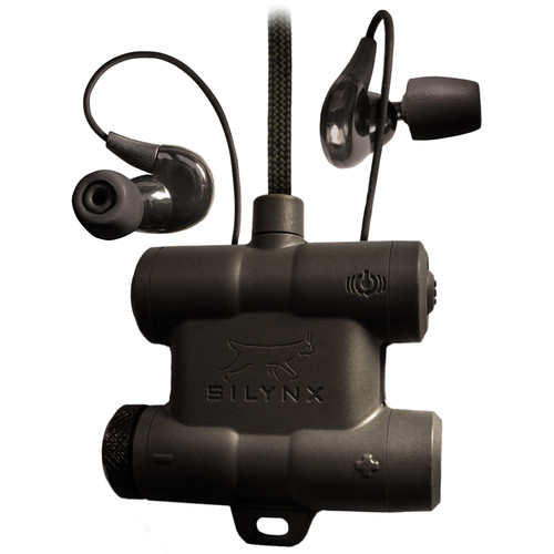 Silynx Communications CPRP-B-00 Clarus Pro, Rugged Noise Cancelling In-Ear Headset