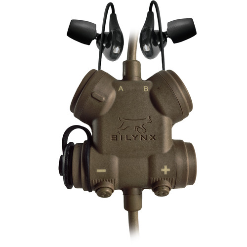 Silynx Communications CXPRFH-D-003 CLARUS XPR, Smart Tactical Headset System with XTS/MTS Adapter Cable