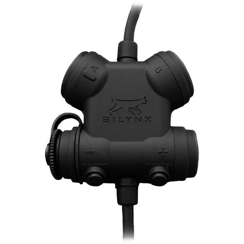 Silynx Communications Clarus XPR Control Box, Single Lead (Black)