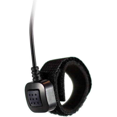 Silynx Communications FPTTS-A-002 Single Finger Push-To-Talk & Wired Remote Interface (Black)