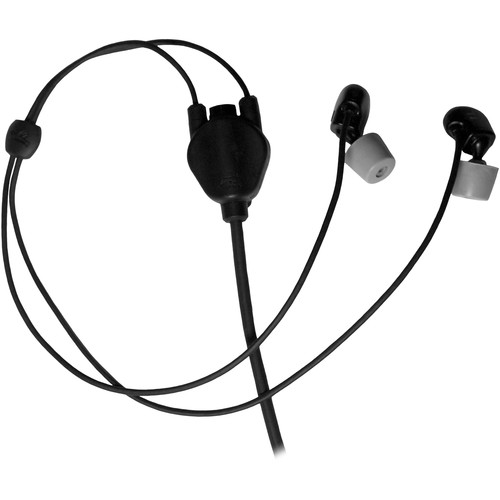 Silynx Communications CLARUS Hybrid Stingray Headset without Boom Microphone (Black)
