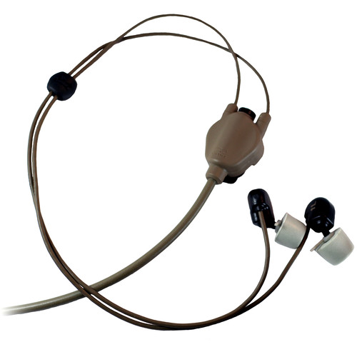 Silynx Communications CLARUS Hybrid Stingray Headset without Boom Microphone (Tan)