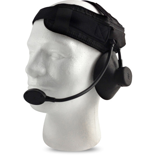 Silynx Communications Eagle 20M Submersible Maritime Headset with Ear Cup, Dynamic Boom Mic (Black)
