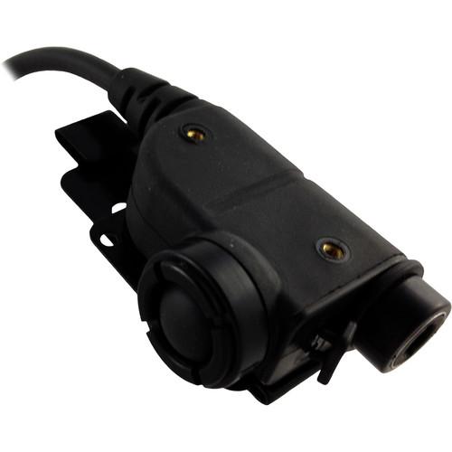 "Silynx Communications U94 Chest Mountable Push-to-Talk Comm System (18"", Straight)"