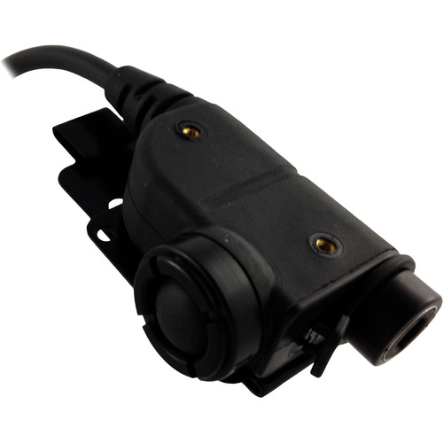 Silynx Communications U94 Chest PTT with Motorola APX Side Connector (Black)