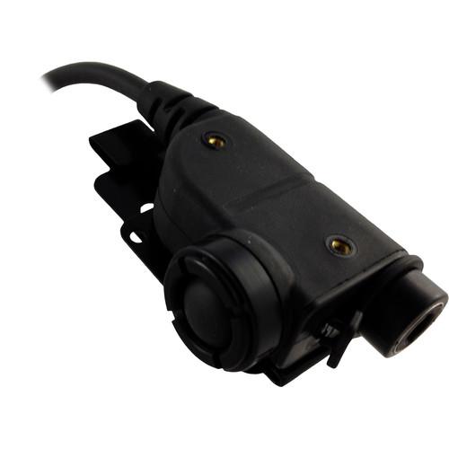 Silynx Communications U94 Chest PTT with Motorola XTS Side Connector (Black)