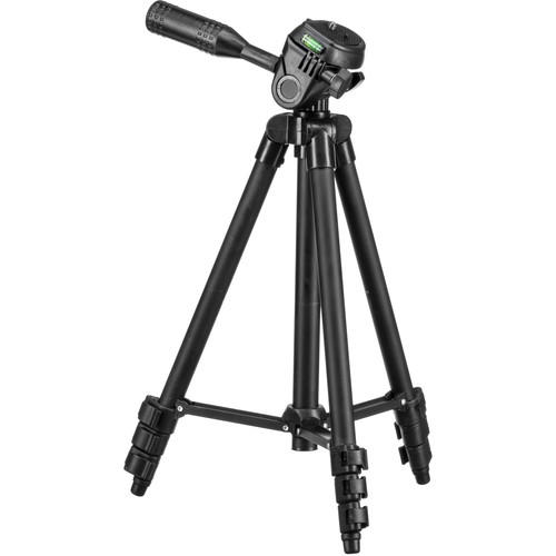 "Sima STV-42E 42"" Economy Series Weekender Panorama Aluminum Tripod with Pan/Tilt Head"