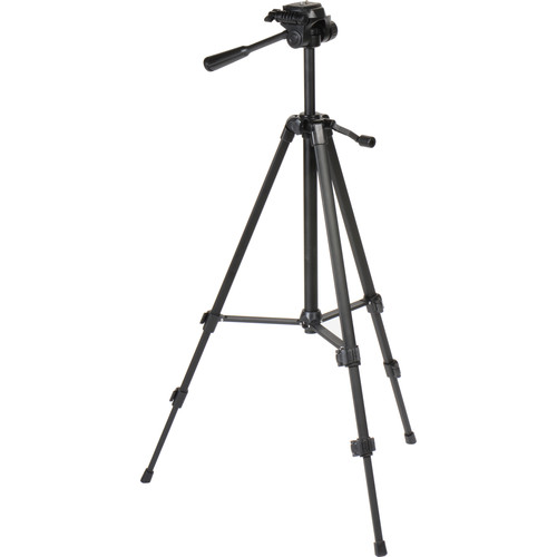"Sima 54"" Pro Panorama 3-Section Telescoping Tripod (Black)"