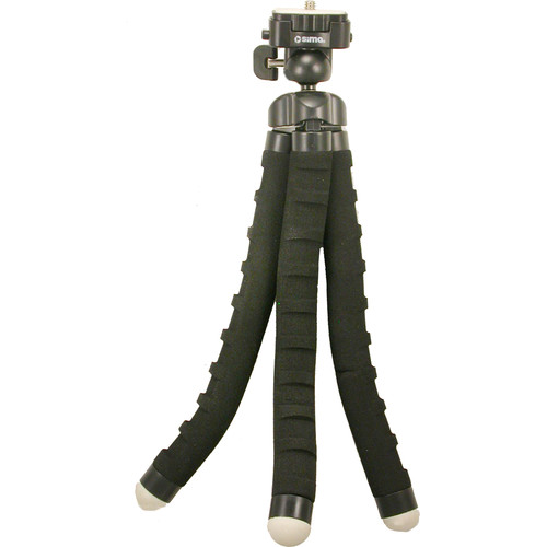 "Sima 10"" Flexible Bendy Tripod (Black)"