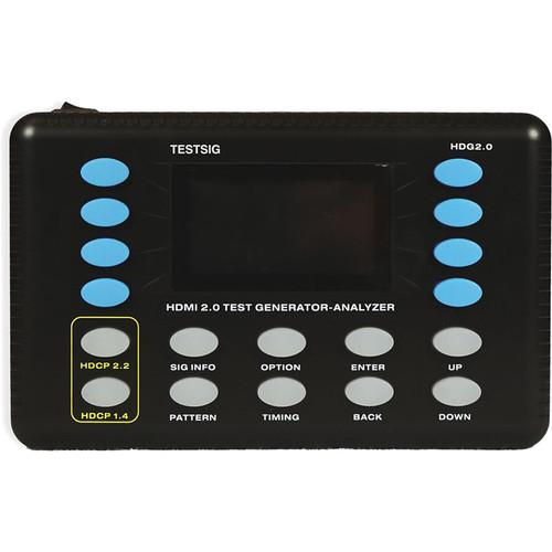 Simplified HDMI 2.0 Test Generator / Analyzer