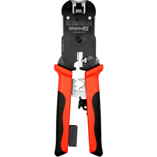 Simply45 ProSeries All-In-One RJ45 Crimp Tool