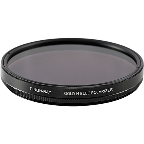 Singh-Ray 55mm Standard Ring Gold-N-Blue Polarizer Filter