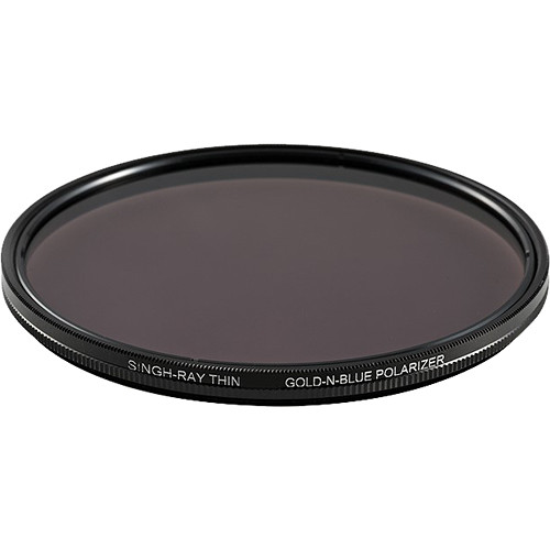 Singh-Ray 82mm Thin Ring Gold-N-Blue Polarizer Filter