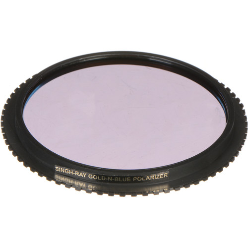 Singh-Ray P-Sprocket Gold-N-Blue Polarizer Filter