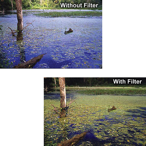 Singh-Ray Z-Pro Sprocket Gold-N-Blue Polarizer Filter