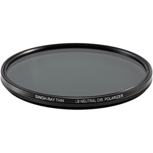 Singh-Ray 105mm Thin LB (Lighter, Brighter) Neutral Circular Polarizer Filter