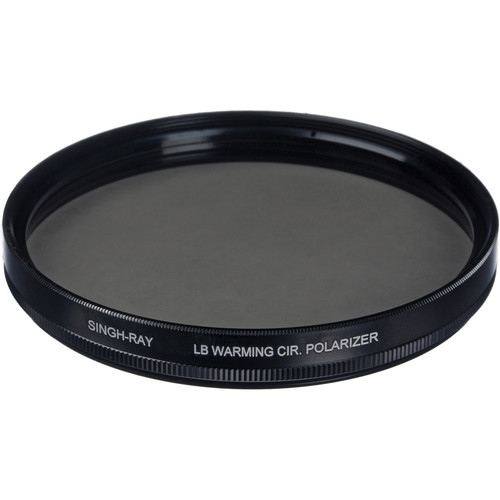 Singh-Ray 49mm LB (Lighter, Brighter) Warming Circular Polarizer Filter