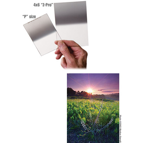 Singh-Ray 75 x 90mm Daryl Benson 0.3 Reverse Graduated Neutral Density Filter