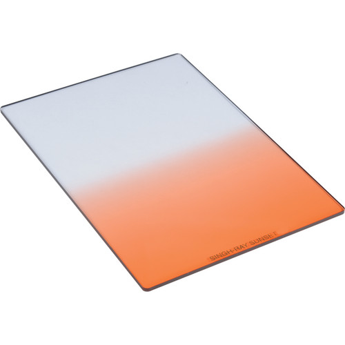 Singh-Ray 127 x 177.8mm 4 Sunset Hard-Edge Graduated Warming Filter
