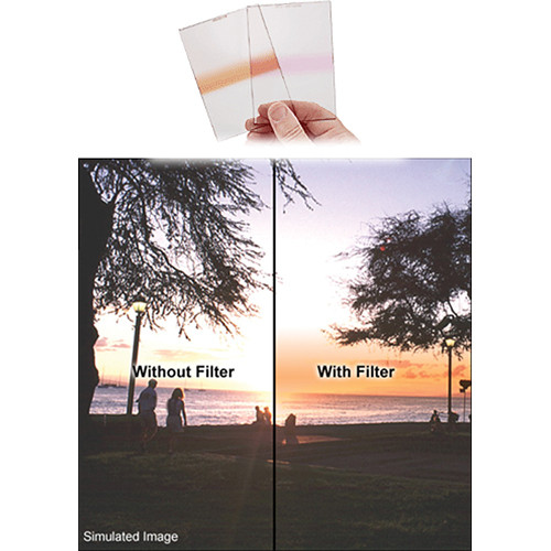 Singh-Ray 150 x 177.8mm 0.6 Neutral Density Orange Strip Filter