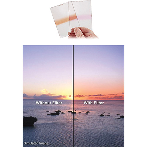 Singh-Ray 150 x 177.8mm 0.3 Neutral Density Pink Strip Filter