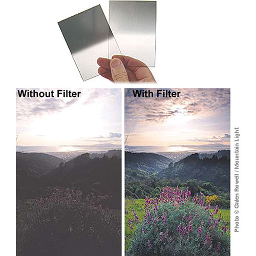 Singh-Ray 150 x 177.8mm Galen Rowell 0.9 Hard-Edge Graduated Neutral Density Filter