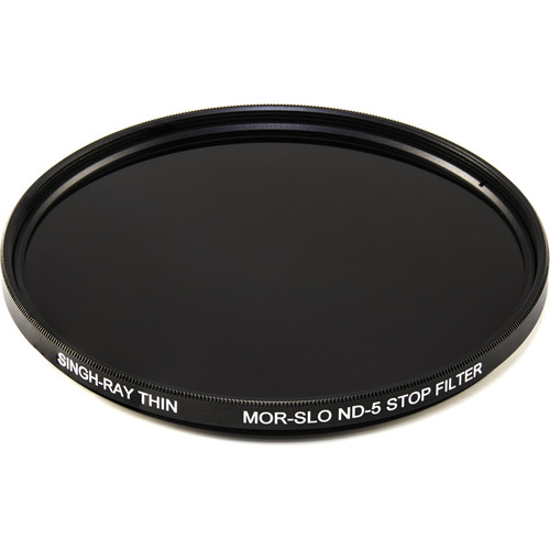 Singh-Ray 72mm Thin Mor-Slo Solid Neutral Density 1.5 Filter with Front Filter Threads (5-Stop)