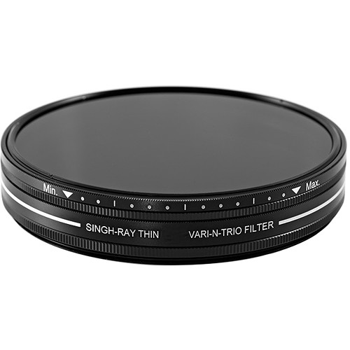 Singh-Ray 72mm Thin Vari-N-Trio Variable Neutral Density, Warming Circular Polarizer, and Color Intensifier Filter