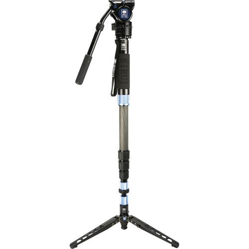 Sirui P-424SR Photo/Video Monopod with VH-10X Head
