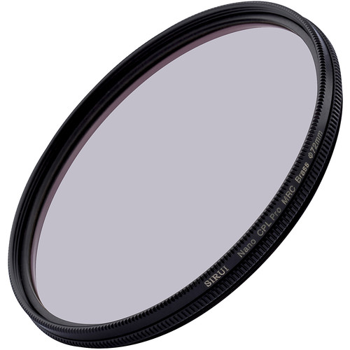 Sirui 72mm Ultra Slim S-Pro Nano MC Circular Polarizer Filter (Brass Filter Ring)