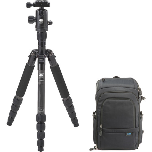 Sirui Sirui T-025X Tripod with C-10S Ball Head and UrbanPro 15 Backpack Kit