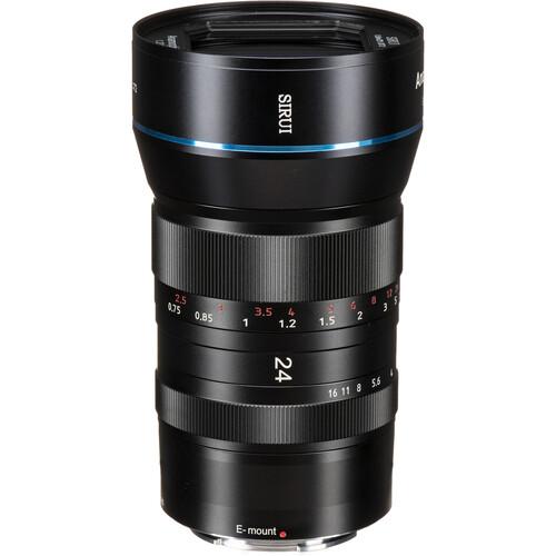 Sirui 24mm f/2.8 Anamorphic 1.33x Lens (E Mount)