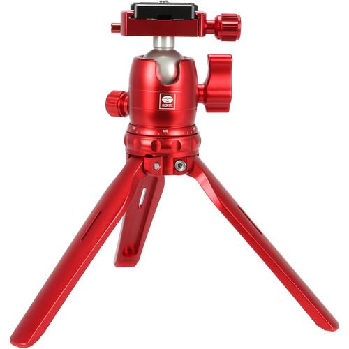 Sirui 3T-15 Tabletop Tripod with B-00 Ball Head (Red)