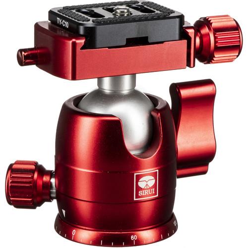 Sirui B-00 Series Mini Ball Head (Red)