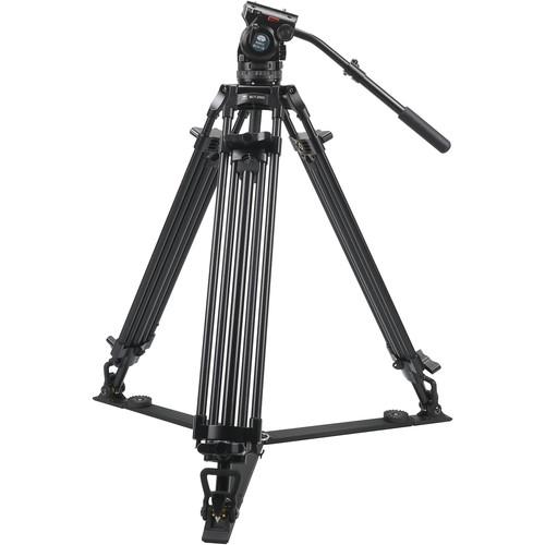 Sirui BCT-2003 Aluminum Tripod & BCH-10 Video Head Bundle