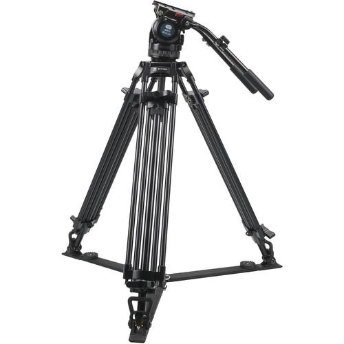 Sirui BCT-2003 Aluminum Tripod & BCH-20 Video Head Bundle