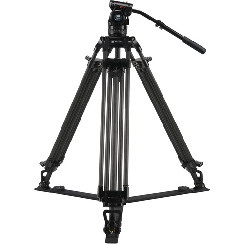 Sirui BCT-2203 Carbon Fiber Tripod & BCH-10 Video Head Bundle