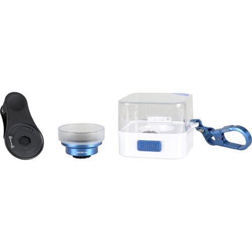 Sirui Macro Lens with Mobile Lens Clip (Blue)