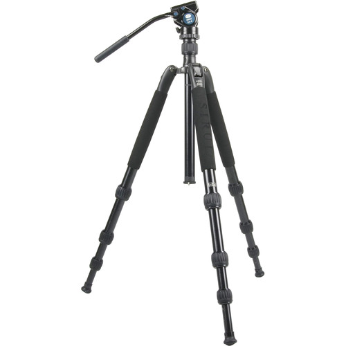 Sirui N-2004SK N-S Series Aluminum Tripod & VA-5 Ultra-Compact Video Head Kit